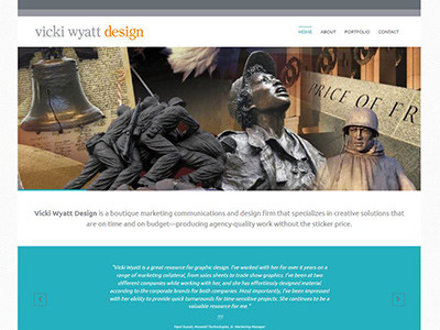 Vicki Wyatt Design – WordPress