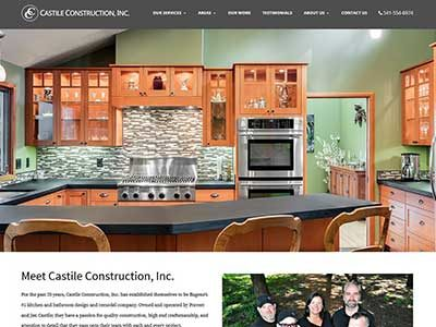 Castile Construction, Inc. – WordPress