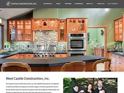 Castile Construction, Inc. – WordPress