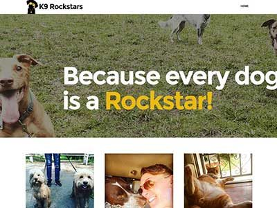 K9 Rockstars – WordPress