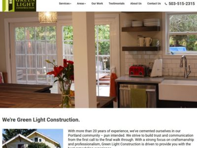 Greenlight Construction – WordPress