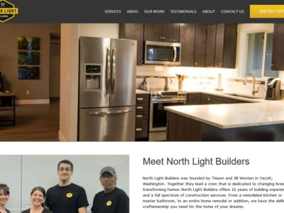 North Light Builders – WordPress